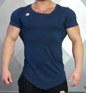 Футболка Yurei Asymmetric Blue