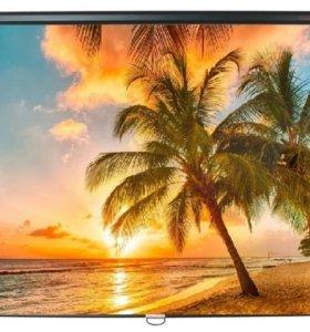 Экран для проектора ScreenMedia 200 см подвесной
