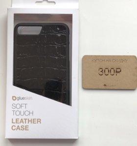 Чехол с кожей аллигатора IPhone 7/8 plus