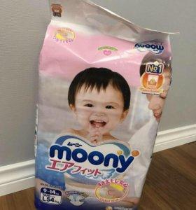 Подгузники муни (moony)