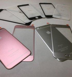 Двухстороннее защитное стекло на iPhone