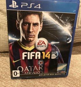 Диски FIFA PS4