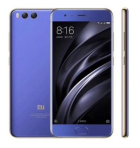 Xiaomi mi6 64Gb bright blue