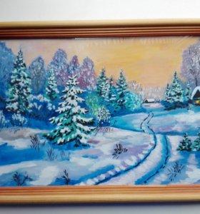 Продам картины нарисованные от души)