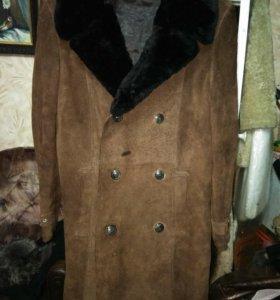 Пальто замшевое мужское