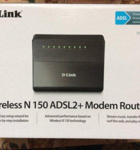 WiFi роутер D-link dsl 2640-U