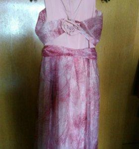 Детское (10-12 лет) бальное платье