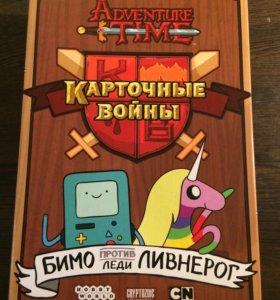Adventure time. Карточные войны. Время приключений