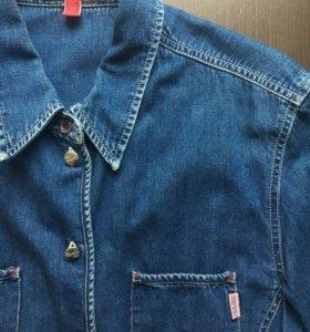 Джинсовая рубашка Esprit