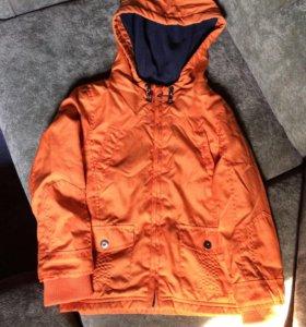Фирменная куртка F&F 110/116 размер