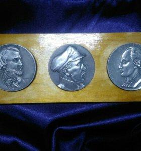 Коллекция настольных медалей (жетонов)