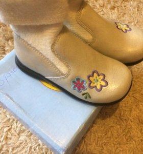 Детская обувь новое