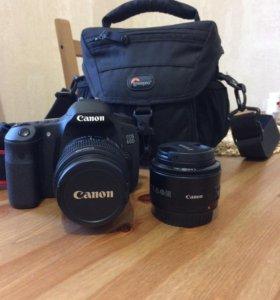 Фотоаппарат Canon 60D+объектив 50 mm
