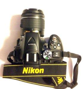 Фотоаппарат Nikon D5300 и объектив KIT 18-55mm