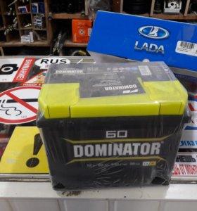 АКБ 60ah 540A Dominator для иномарок