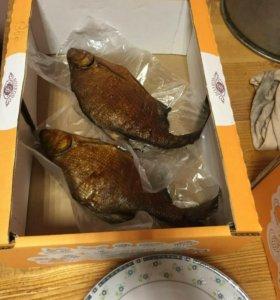 Рыба горячего копченич