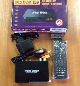 HD DVB- T2 цифровое телевидение