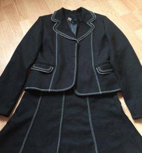 Школьная форма (юбка+пиджак)
