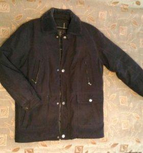 Новое осенне-зимнее пальто мужское