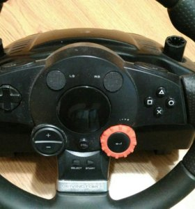 руль и педали Logitech Driving Force GT Pro