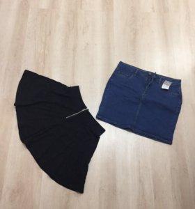 Юбка джинсовая юбка солнце