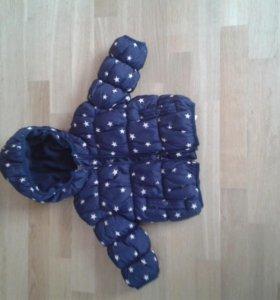 Куртка на девочку фирмы NEXT на 12-18 мес