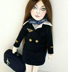 Портретная кукла. Ручная работа. Подарок