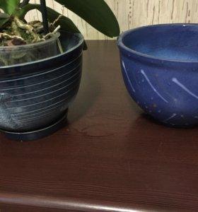 Керамические кашпо для цветов