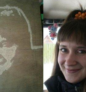 Вырезаю портреты по фотографии