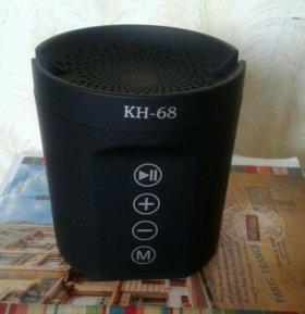 Bluetooth колонка подставка для телефона