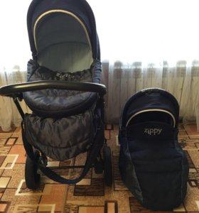 Коляска New Tutis Zippy Silver Plus 3в1