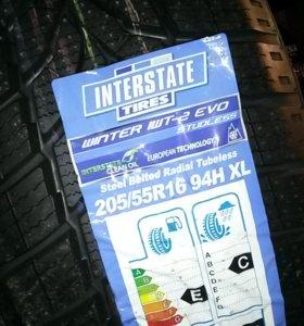 "205/55 R16 ""Interstate"" Новая зимняя резина"