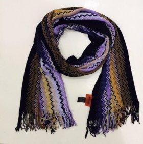 Новый шарф Missoni  шерсть оригинал