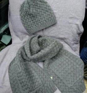 Bottega Комплект шапка и шарф