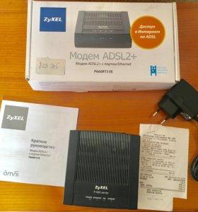 Adsl модем ZyXEL P660RT3 EE