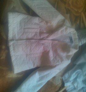 Белая куртка 200,,теплая куртка 350р,остальное 150