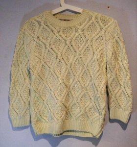 Тёплый вязанный свитер Zara knit