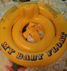 Intex Надувной флот лодка круг плот 1-2 года