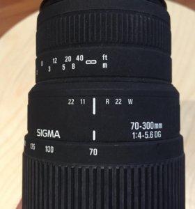 Sigma 70-300 DG