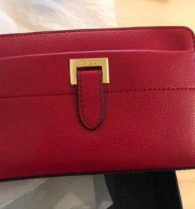 Новый клатч кошелек ralph lauren