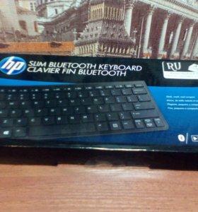 Клавиатура HP Slim BT Keyboard черный H4Q44AA