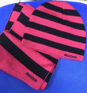 Шапка+шарф Reebok