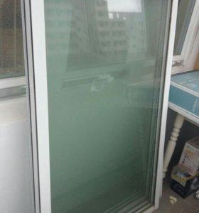Новые Алюминиевые окна на 6ти метровый балкон