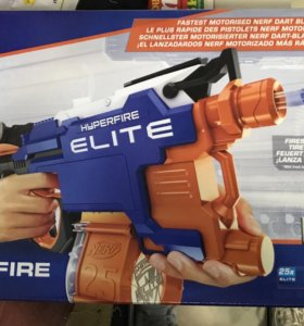 Nerf Strike Elite Hyperfire бластер