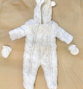 Детский осенний комбинезон