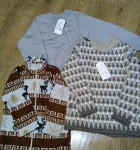 Новые свитера 116р-р