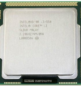 Процессор Intel Core i3-550 (3200MHz, LGA1156)