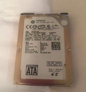 Продам жесткий диск HITACHI 60gb