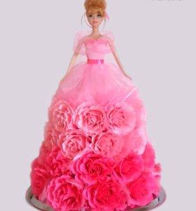 Конфетная кукла «Рози»