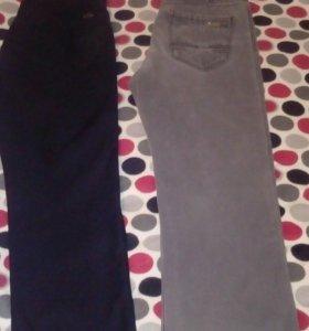 Утепленные джинсы р.48-50